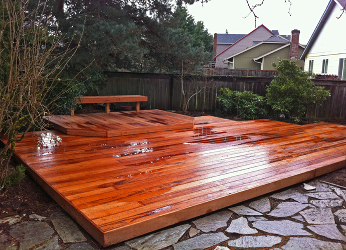 Combat and clean mold from your wood deck all about the for What is the best wood for decking