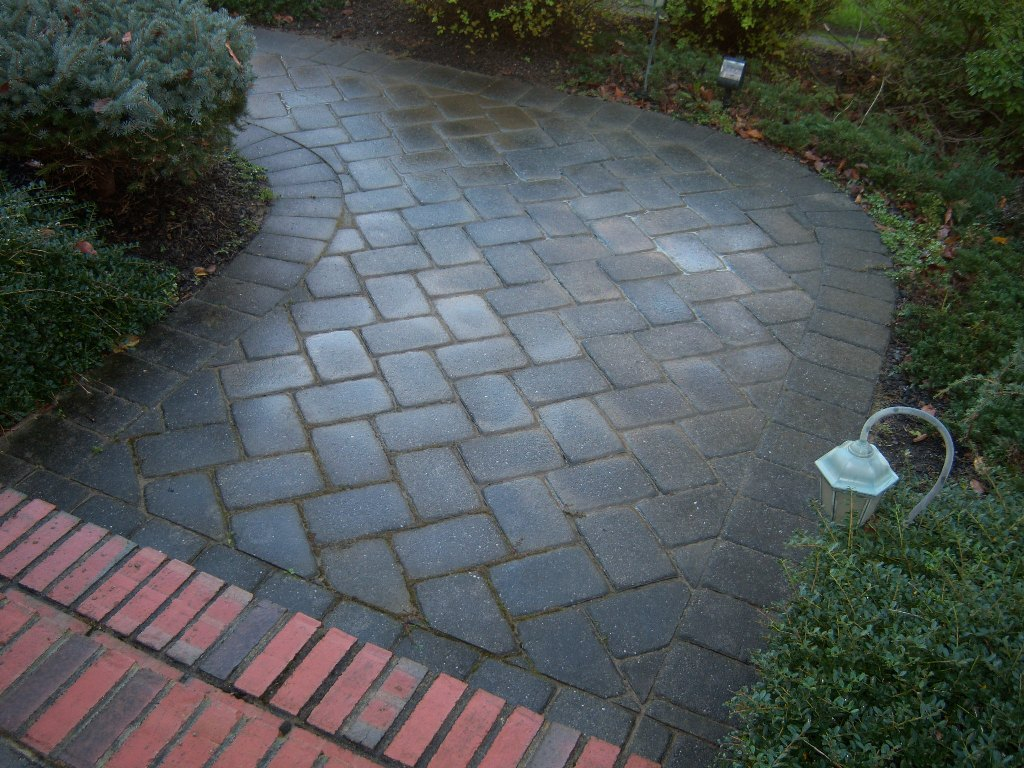 My Collapsing Paver Walkway All About The House