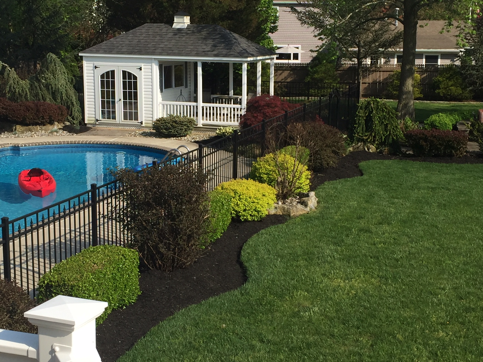 Refreshing A Swimming Pool Landscape All About The House