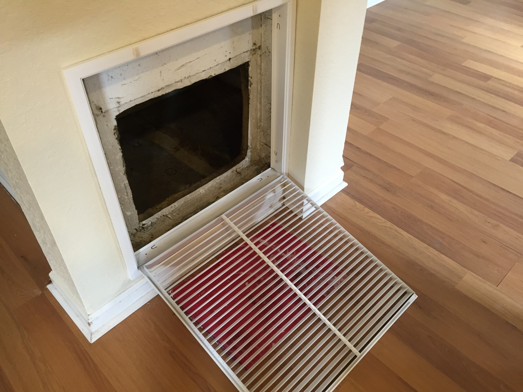 Replacing a central air conditioner return vent cover for Www the house com returns