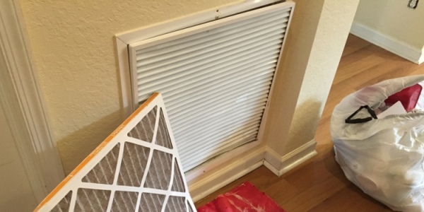Outdoor Vent Covers >> Replacing a Central Air Conditioner Return Vent Cover - All About The House